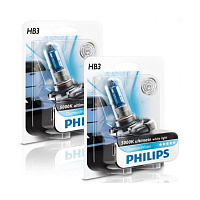 Лампа галогенная Philips Diamond Vision HB3 (P20d) 12V 65W (блистер)