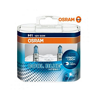 Лампа галогенная Osram Cool Blue Intense H1 (P14,5s) 12V 55W DuoBox (2шт.)