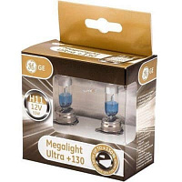 Лампа галогенная General Electric Megalight Ultra +130% H11 (PGJ19-2) 12V-55W (2шт.)